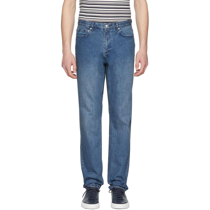 Photo: A.P.C. Indigo Baggy Jeans