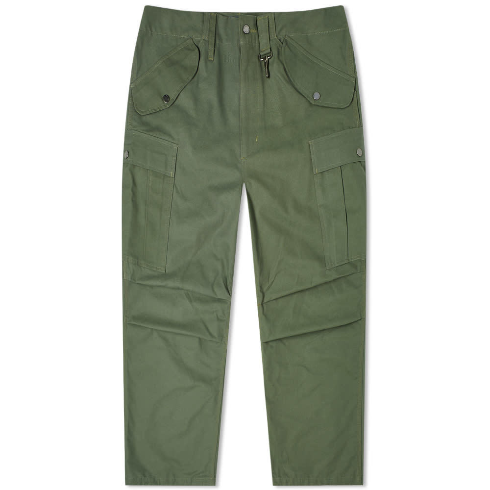 Photo: Reese Cooper Brushed Cotton Canvas Cargo Pant