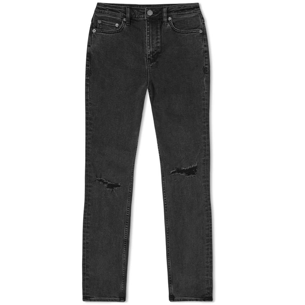 Photo: Ksubi High N Wasted Ripped Knee Skinny Jeans