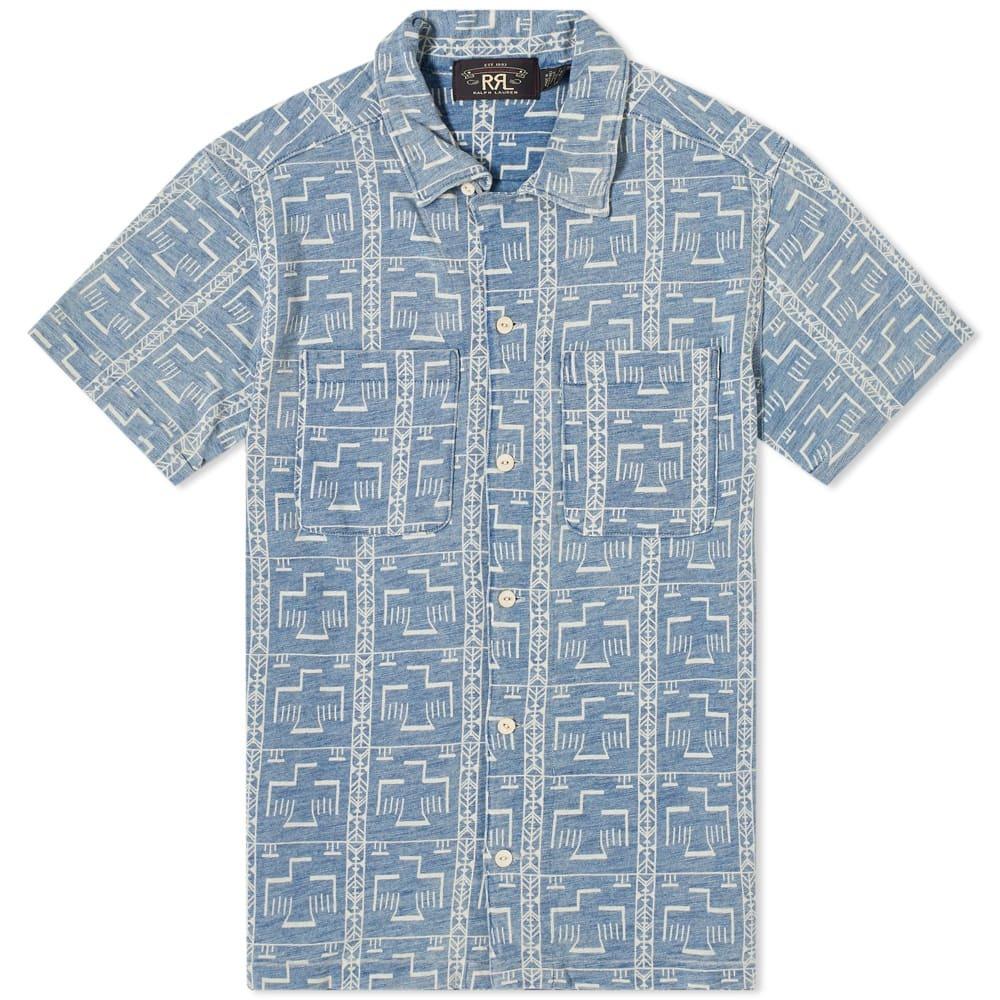 RRL Cross Print Vacation Shirt