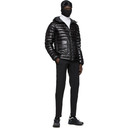 C.P. Company Black Down Light Hooded Jacket