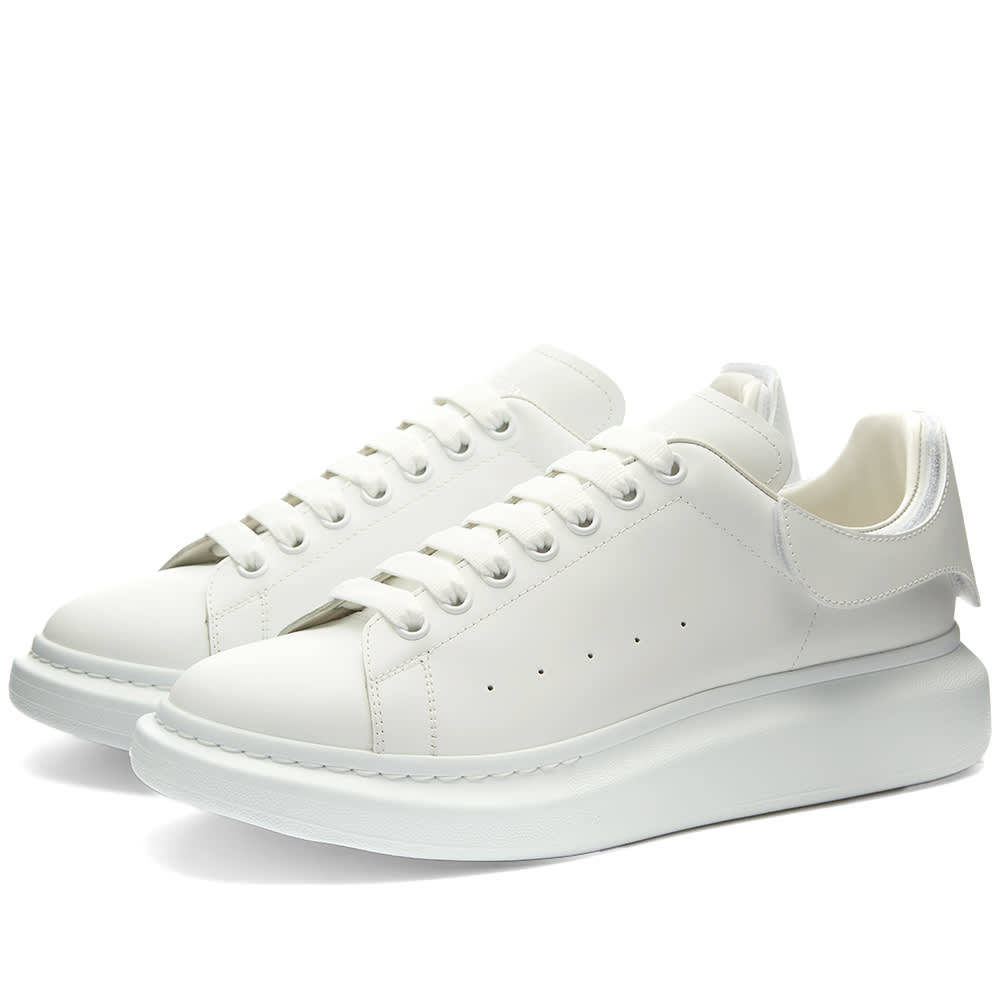 Photo: Alexander McQueen Removable Velcro Patch Wedge Sole Sneaker