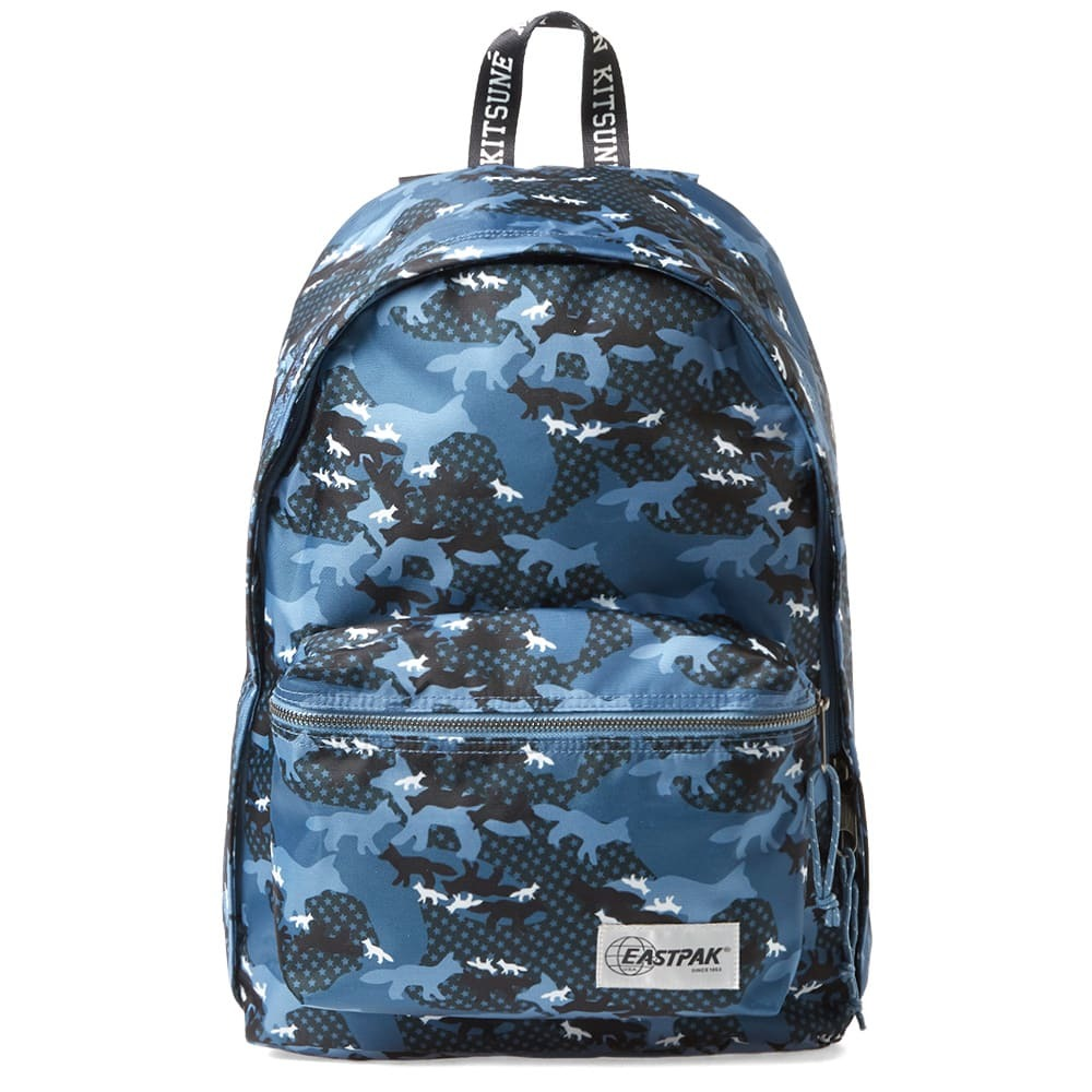 Photo: Maison Kitsune x Eastpak Out of Office Backpack