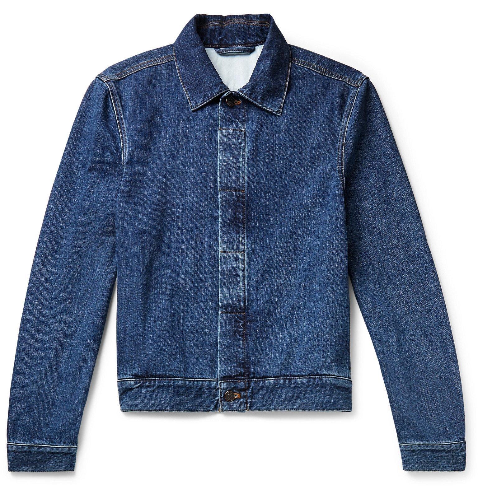 Photo: The Row - Jaden Denim Jacket - Blue