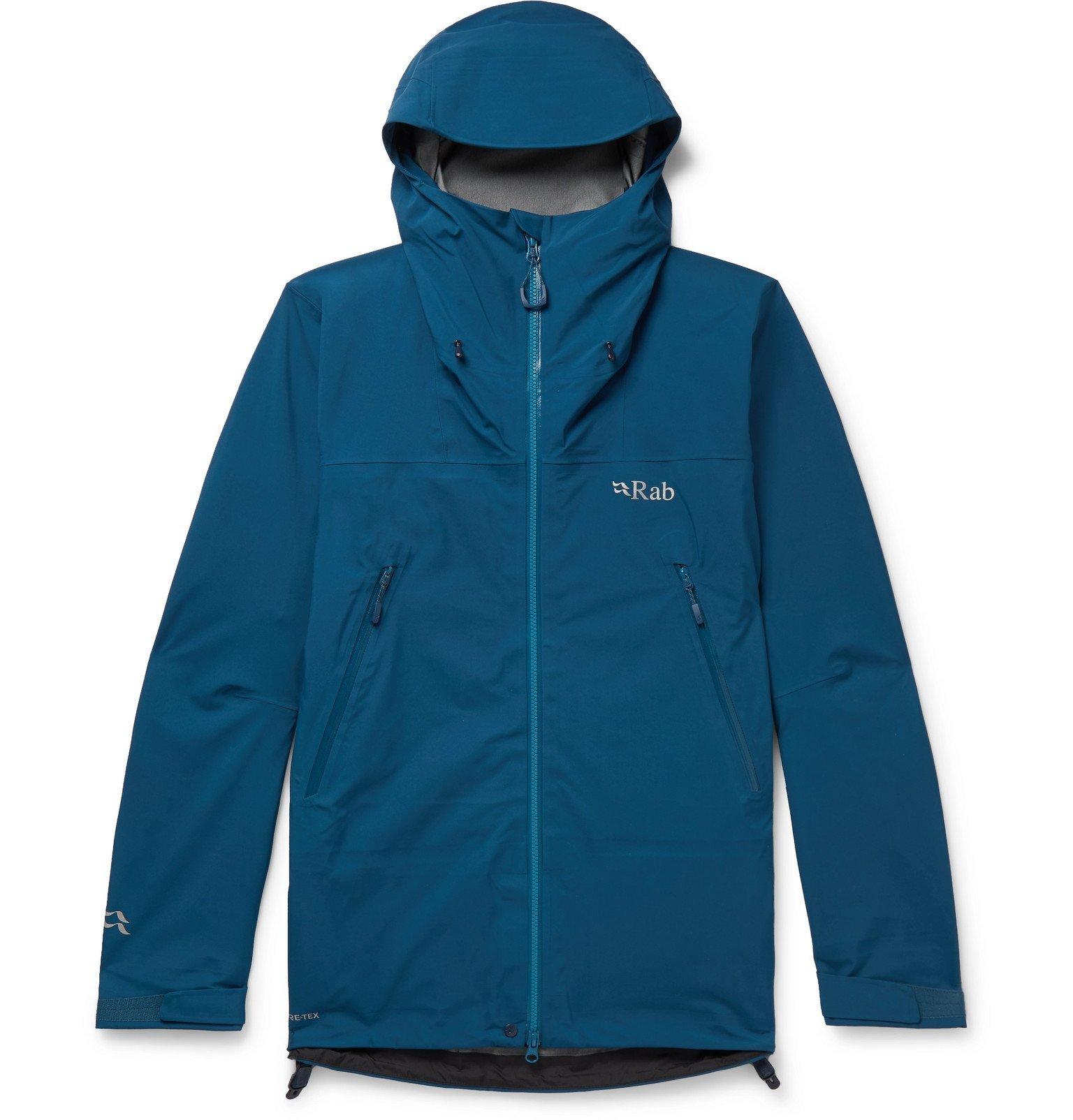 Photo: Rab - Kangri GTX GORE-TEX jacket - Blue