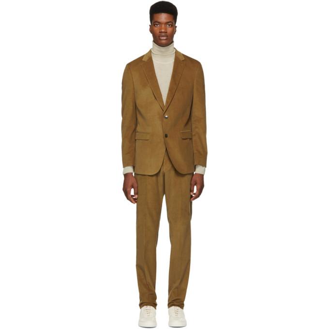 Photo: Boss Brown Novan 5 Ben 2 Suit
