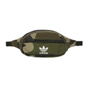 adidas Originals Green and Brown Camo National Waist Pouch