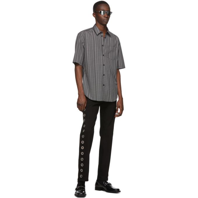 Versace Black Ring Jeans