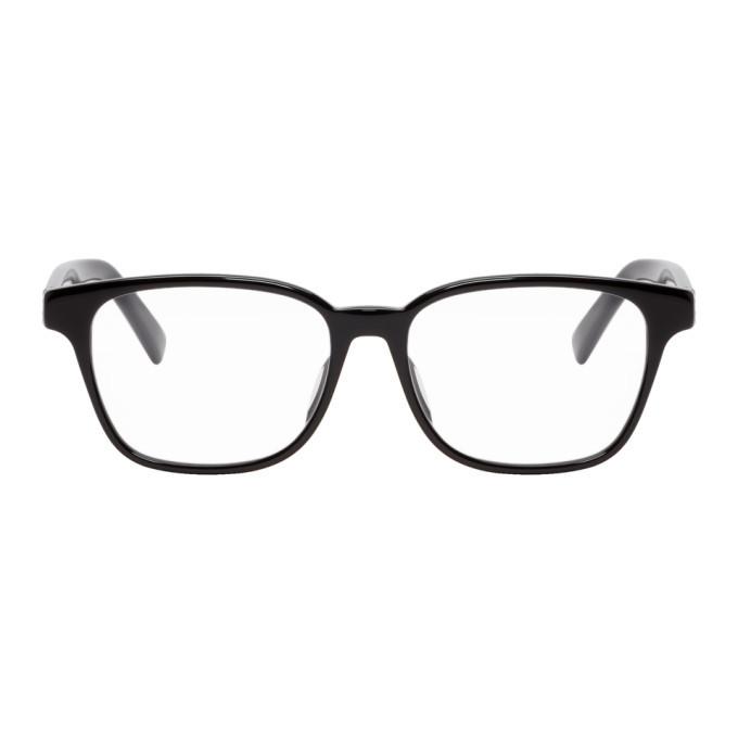 Photo: Gucci Black and Silver Square Glasses
