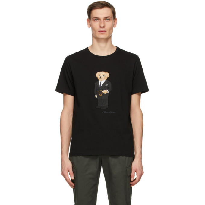 Photo: Ralph Lauren Purple Label Black Bear Jersey T-Shirt