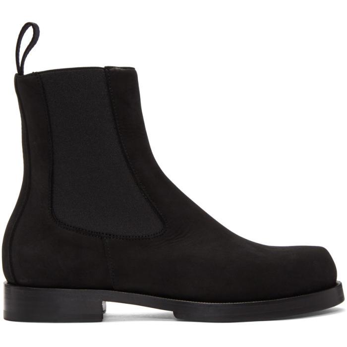 Photo: Alyx Black Suede Chelsea Boots