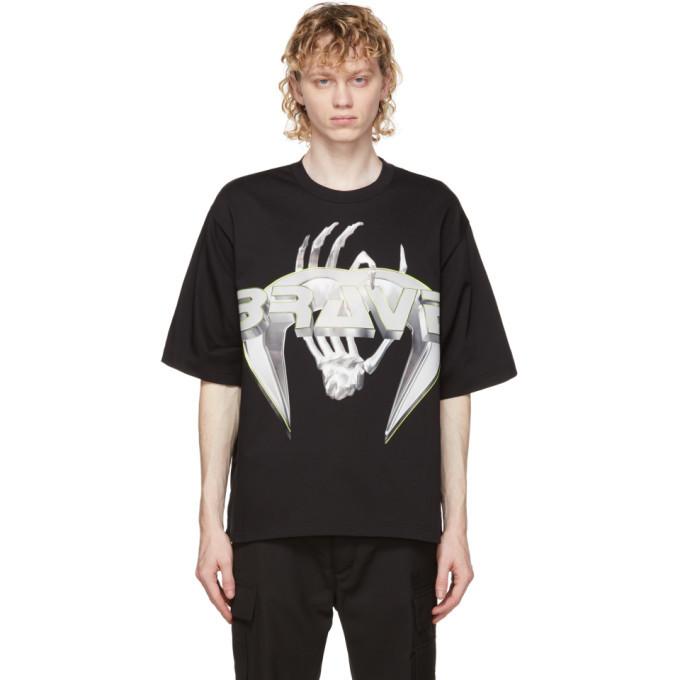 Photo: Diesel Black T-Delphi-Slits-A3 T-Shirt