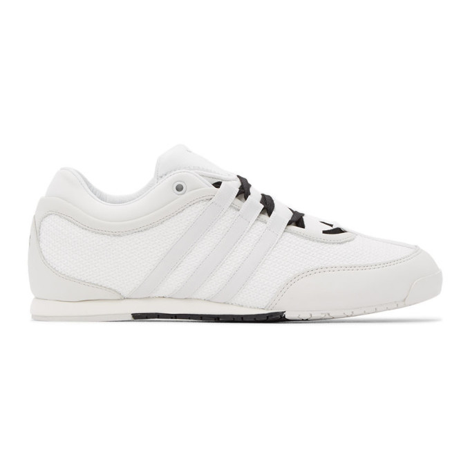 Photo: Y-3 White Boxing Sneakers