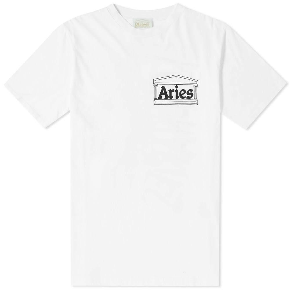 Aries Vulture Tee White
