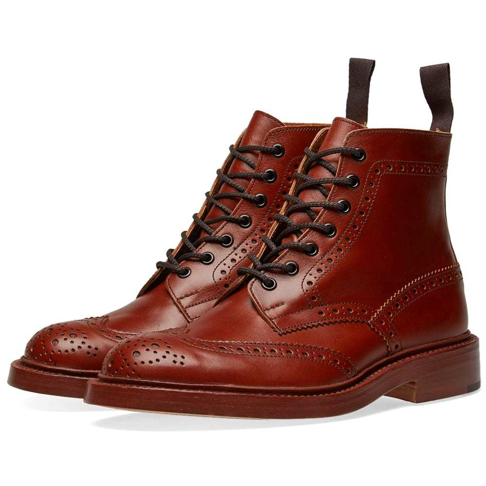 Photo: Tricker's Stow Brogue Derby Boot Brown