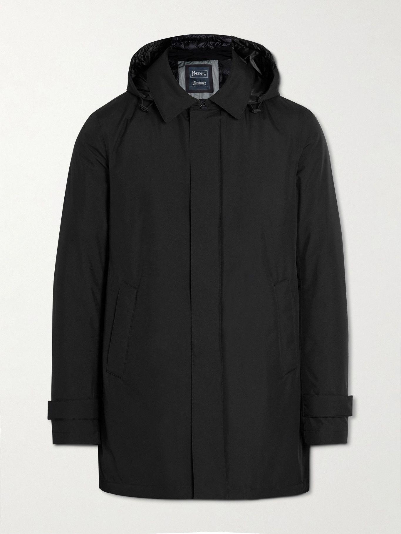 Photo: Herno Laminar - GORE-TEX Hooded Jacket - Black