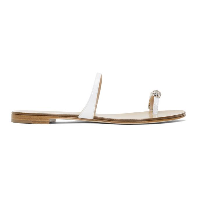 Giuseppe Zanotti White Patent Leather