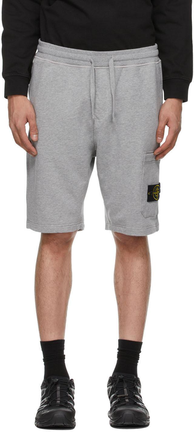 Photo: Stone Island Grey Bermuda Shorts