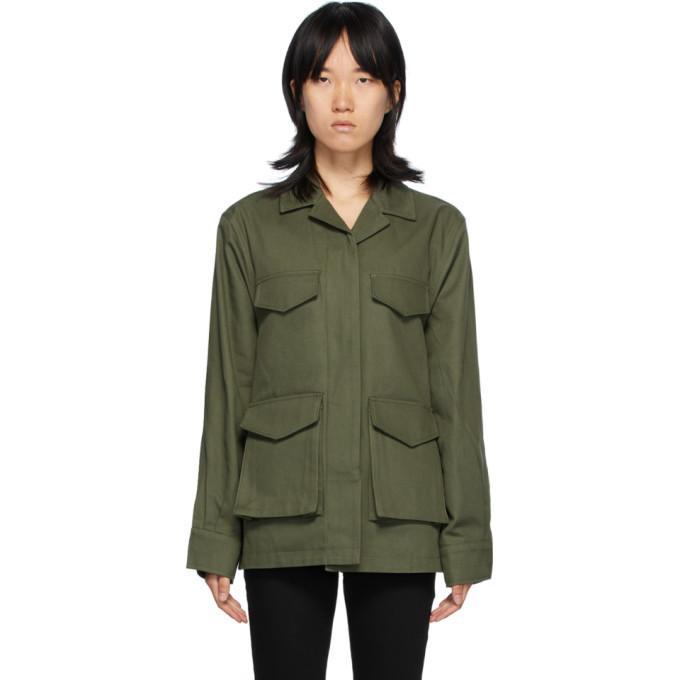 Photo: Toteme Green Avignon Jacket