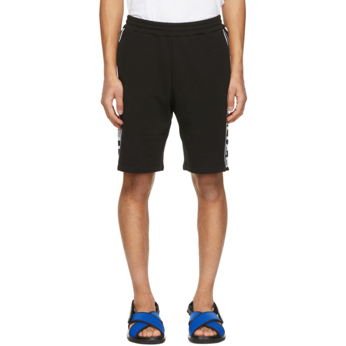 Photo: Stella McCartney Black Shared Fleece 23 OBS Shorts