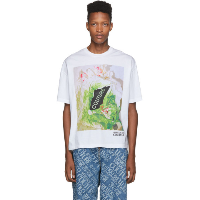 Photo: Versace Jeans Couture White Couture Capsule T-Shirt