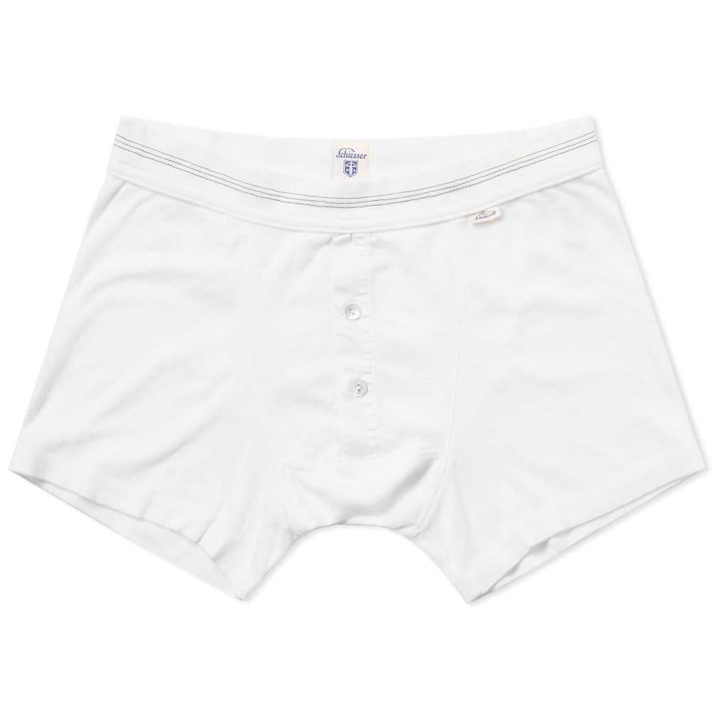 Schiesser Karl-Heinz Boxer Short White