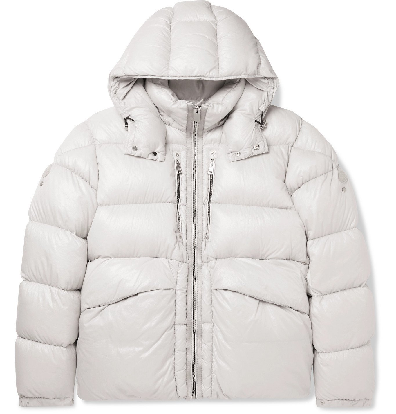 Photo: Moncler Genius - 6 Moncler 1017 ALYX 9SM Quilted Nylon Hooded Down Jacket - Brown