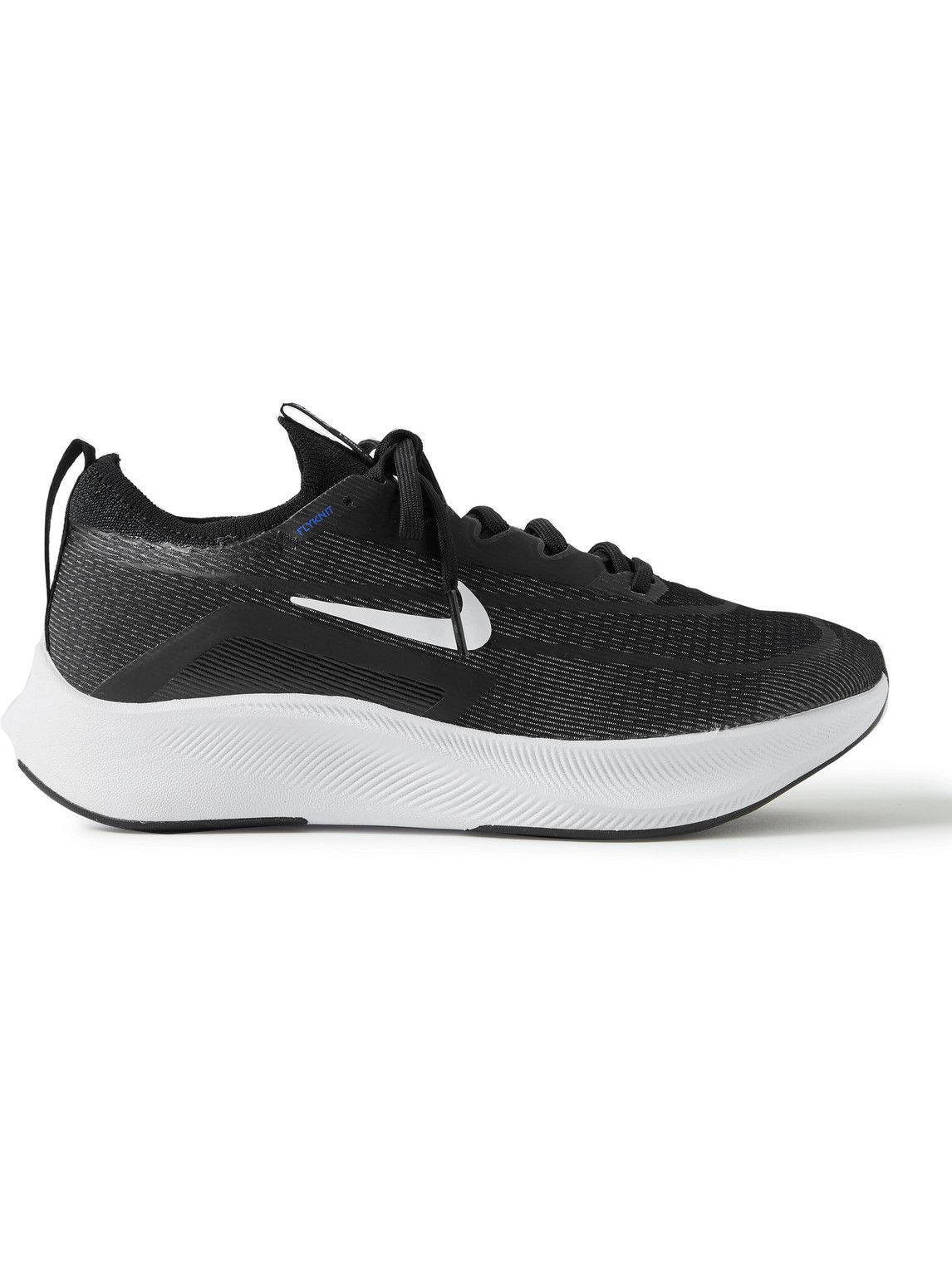 Photo: Nike Running - Zoom Fly 4 Mesh Running Sneakers - Black