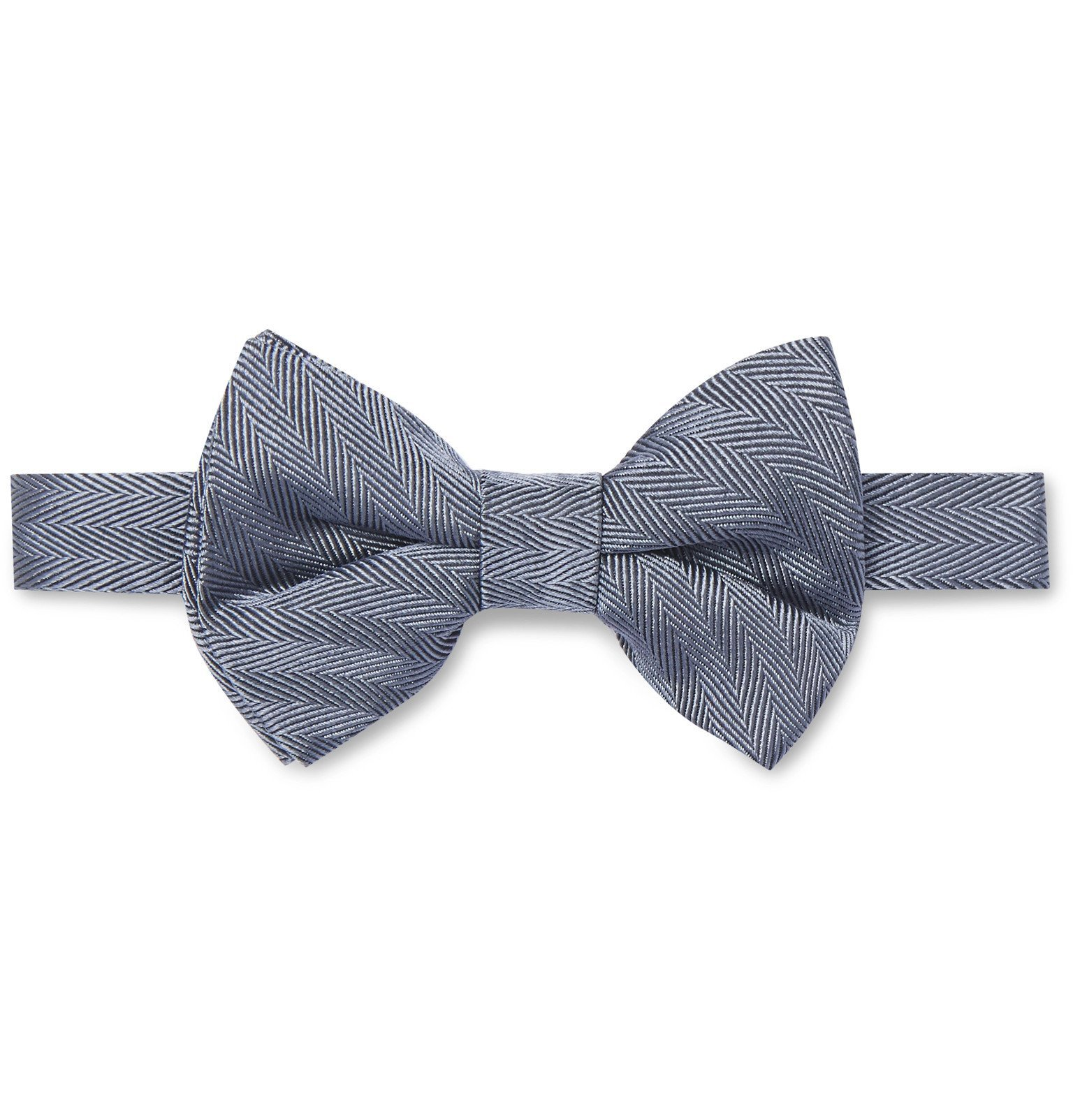 Dunhill - 7cm Striped Wool and Mulberry Silk-Blend Tie - Blue