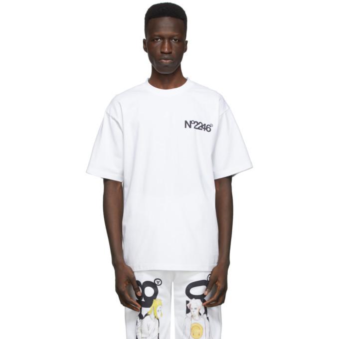 Photo: The DSA White No2246 T-Shirt