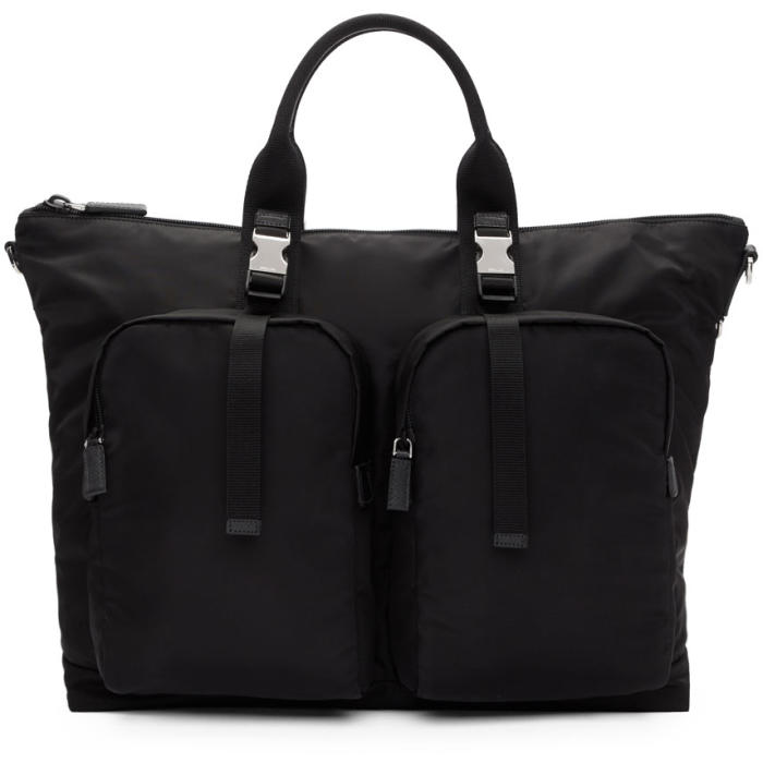 Photo: Prada Black Mountain Duffle Bag