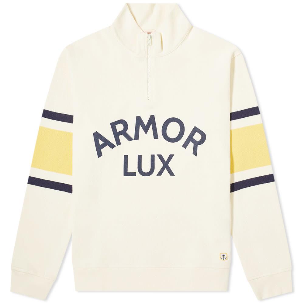 Photo: Armor-Lux Half Zip Logo Sweat