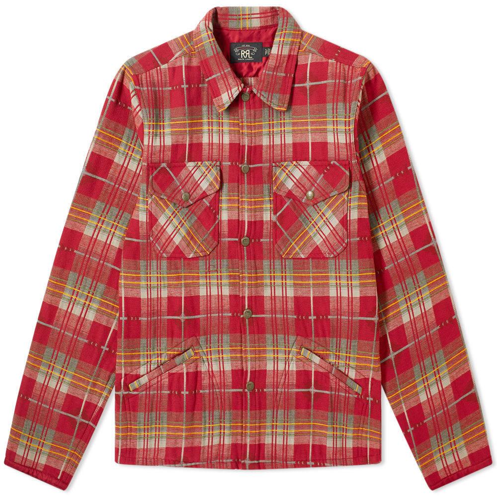 RRL Flannel Overshirt