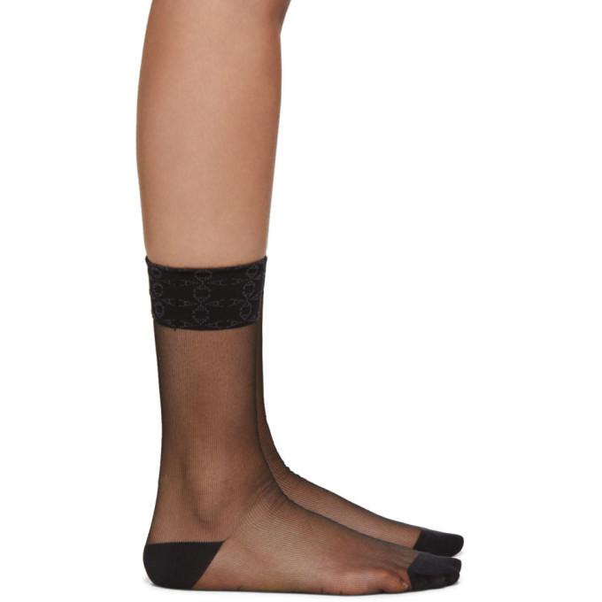 Photo: 1017 ALYX 9SM Black Transparent Socks