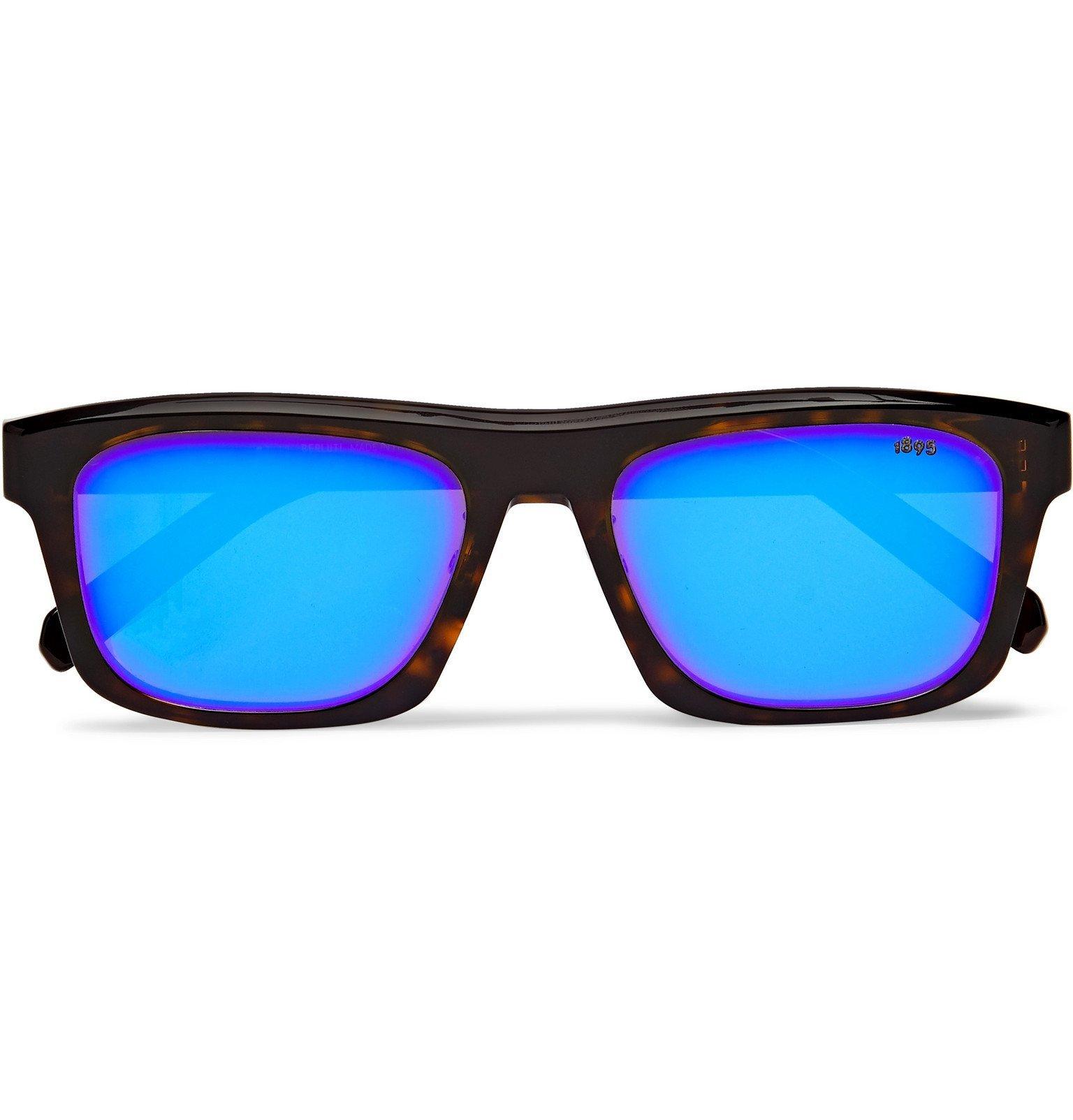 Photo: Berluti - Square-Frame Tortoiseshell Acetate Sunglasses - Tortoiseshell