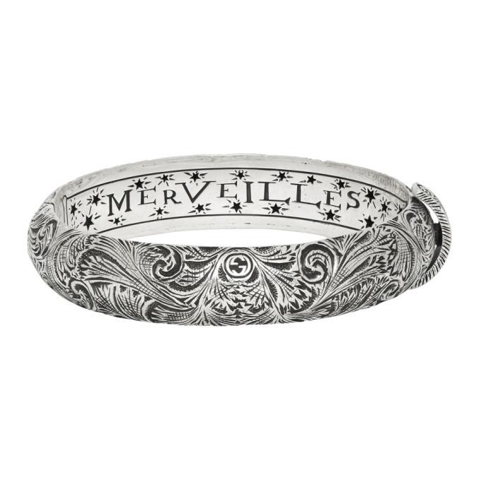 Photo: Gucci Silver LMDM Garden Bracelet