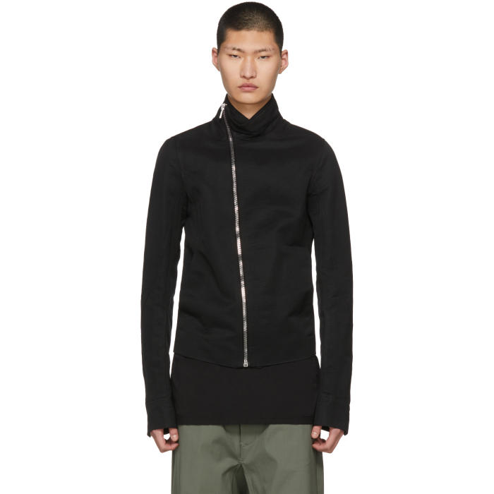 Photo: Rick Owens Black Mollino Biker Jacket