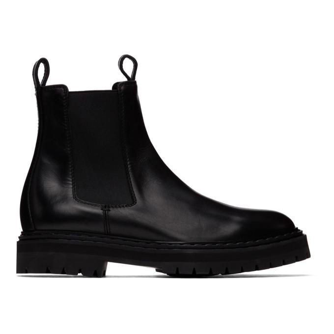 Photo: Officine Creative Black Pistols 3 Chelsea Boots