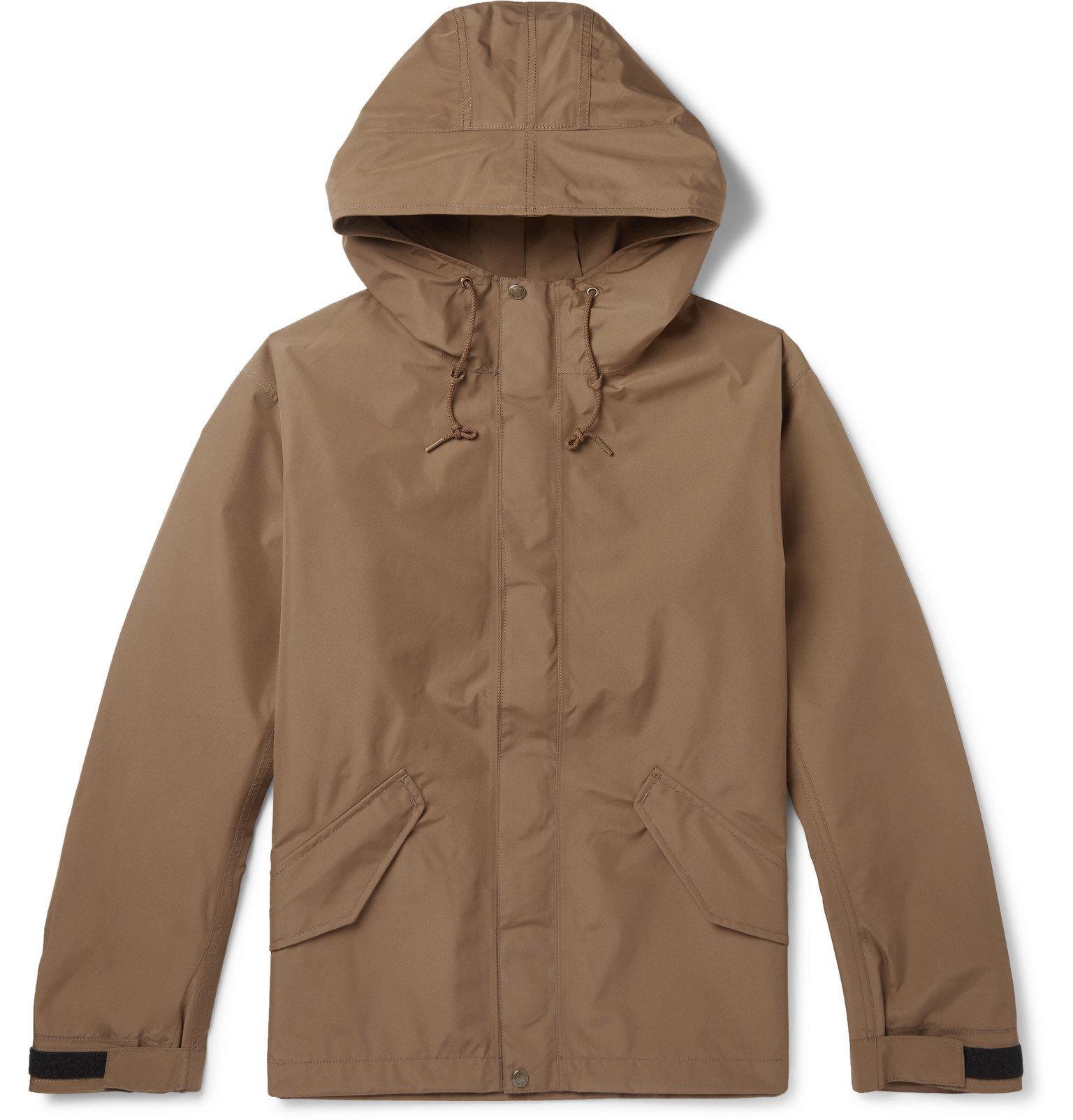 Photo: nanamica - Cruiser GORE-TEX Hooded Jacket - Brown
