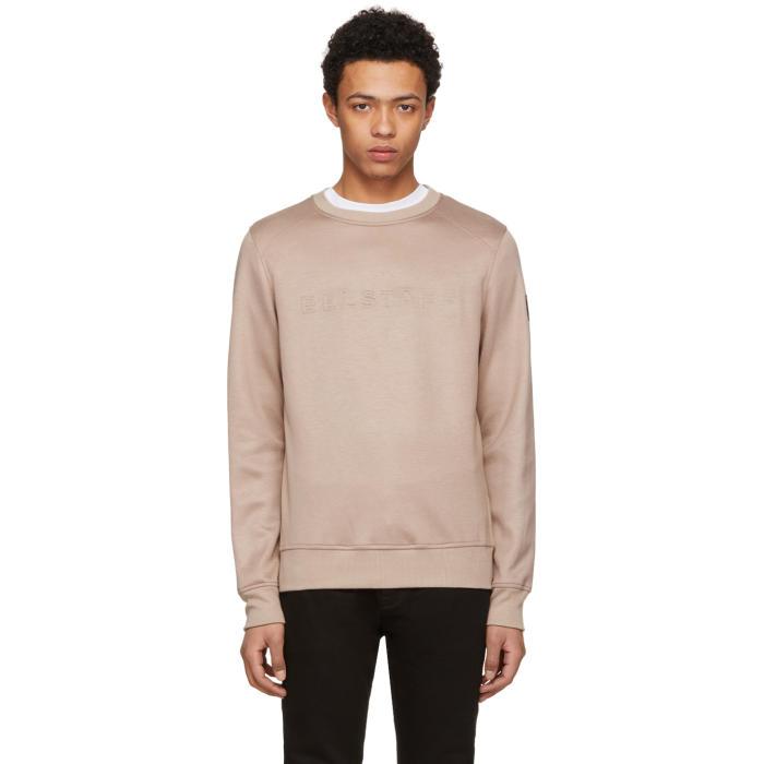 Belstaff Pink Neoprene Belsford Sweatshirt