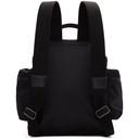 Giorgio Armani Black Satin Backpack