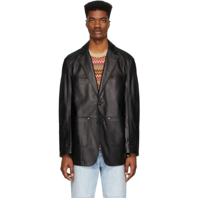Photo: Andersson Bell Black Lambskin New Daddy Classic Jacket