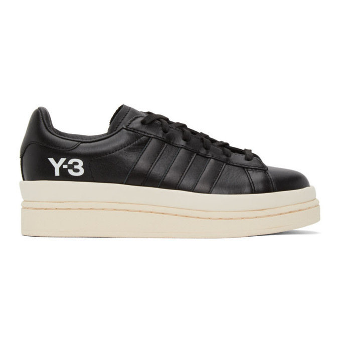 Photo: Y-3 Black Hicho Sneakers