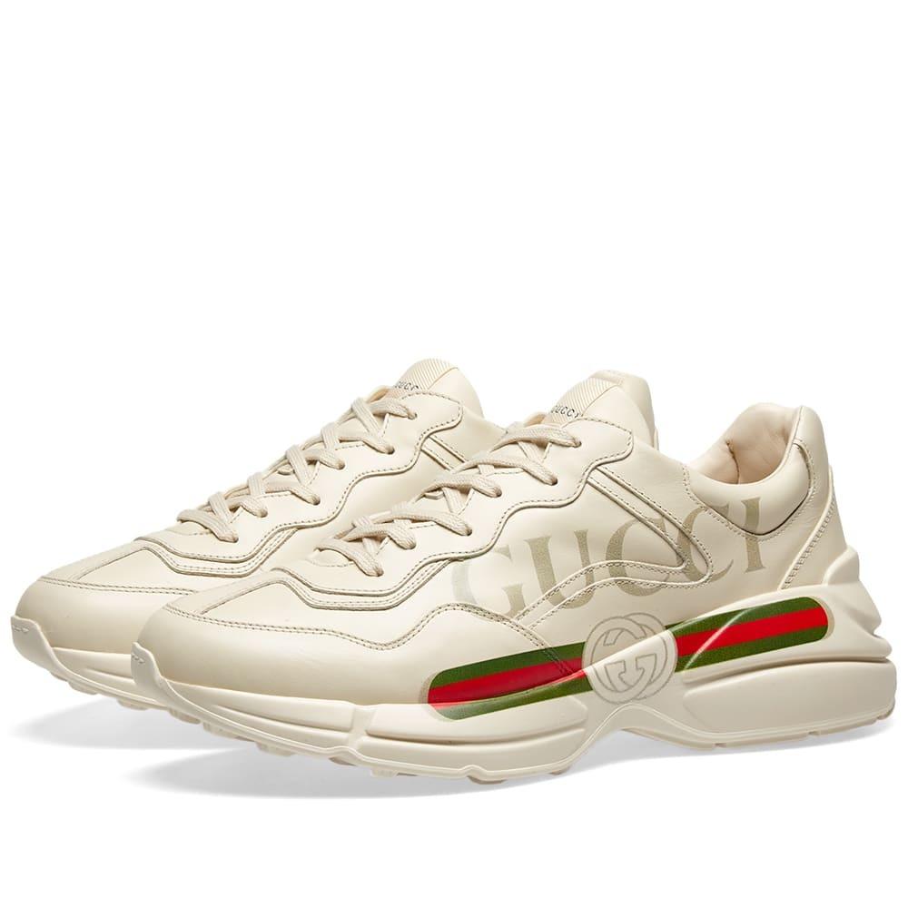 Photo: Gucci Rhyton Gucci Print Sneaker