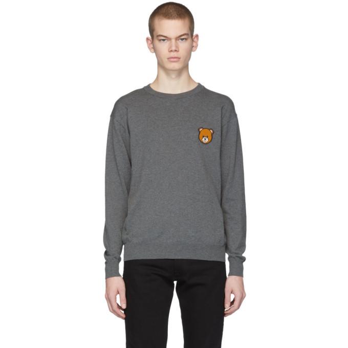 Photo: Moschino Grey Teddy Sweater