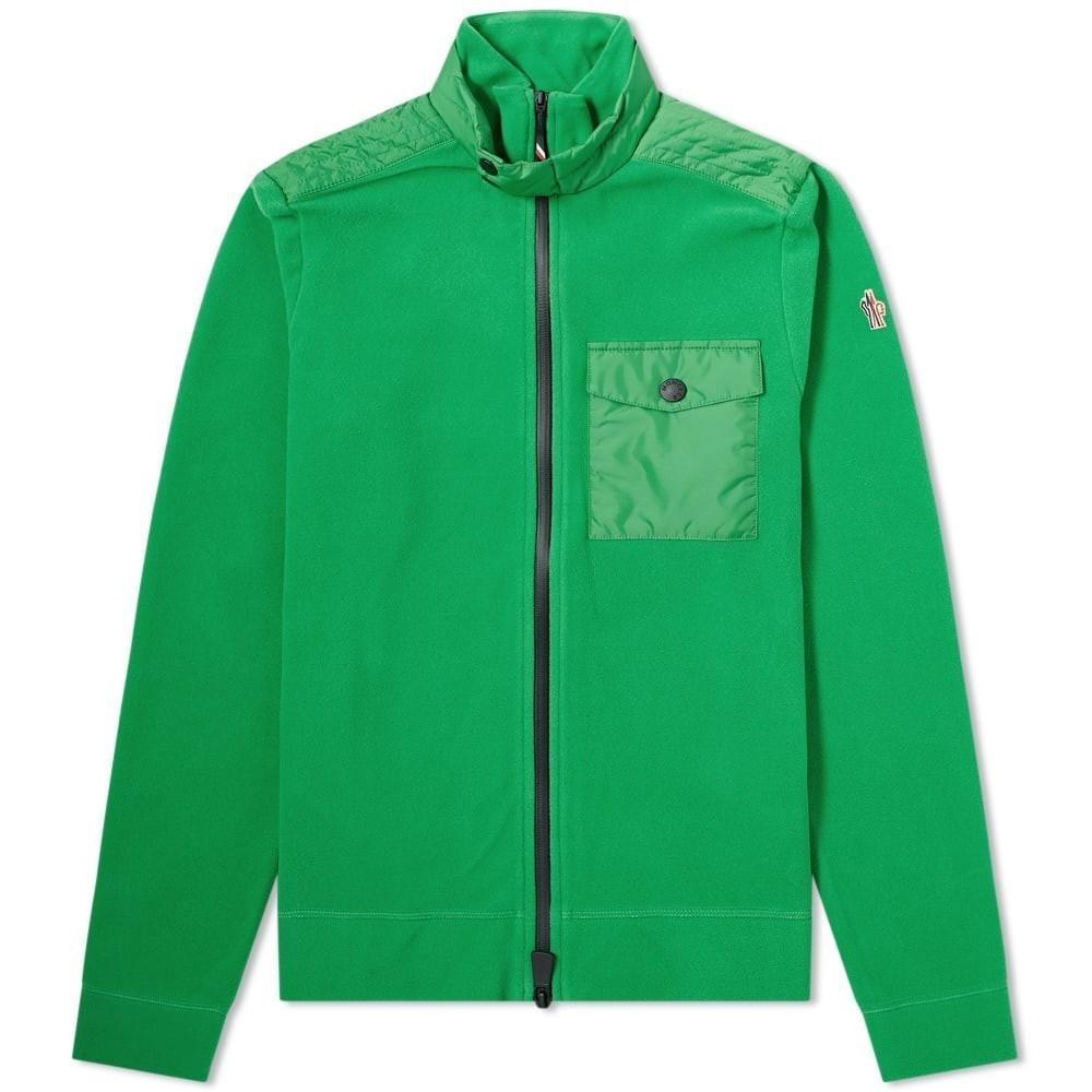 Photo: Moncler Grenoble Nylon Patch Zip Fleece