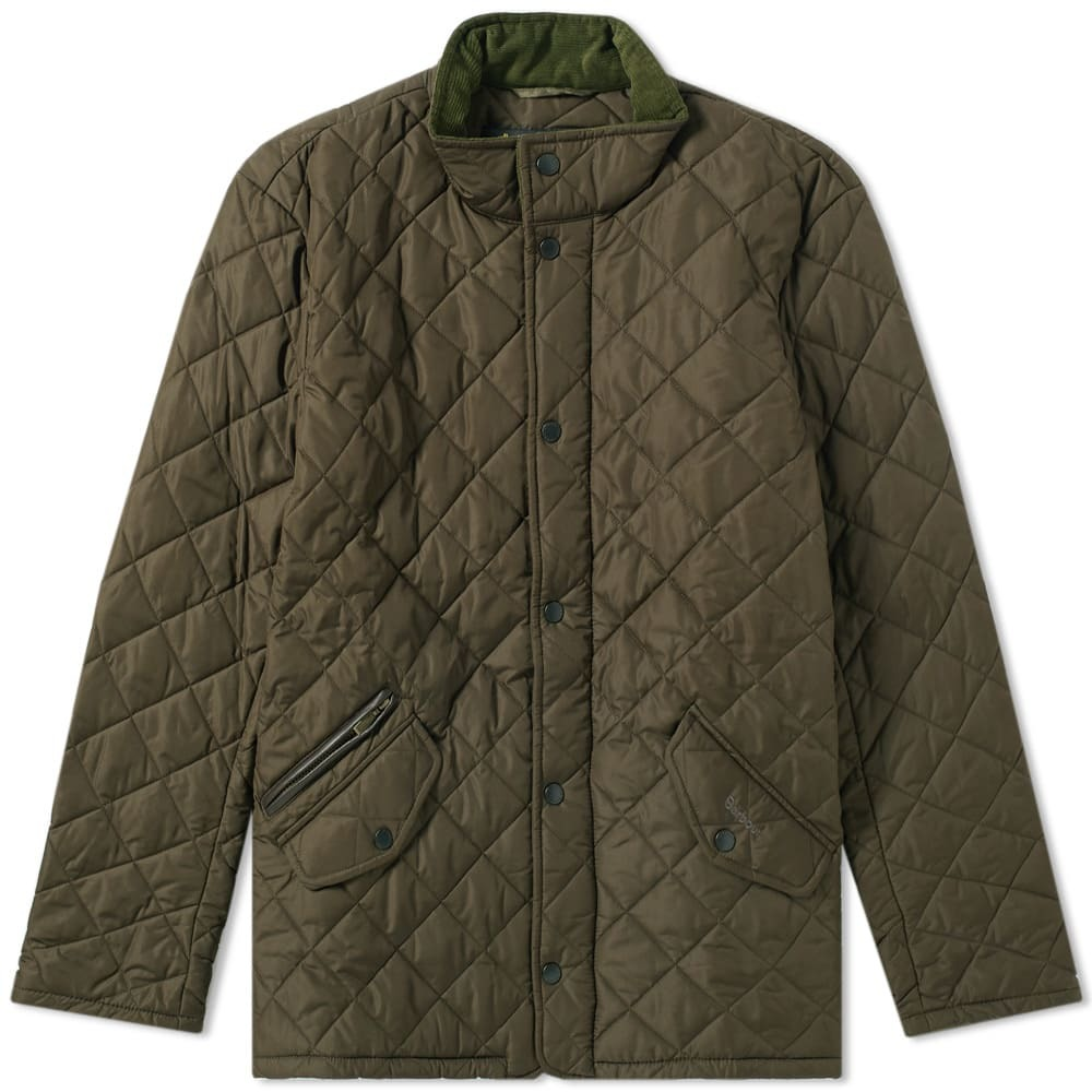 Photo: Barbour Chelsea Sportsquilt Jacket Green