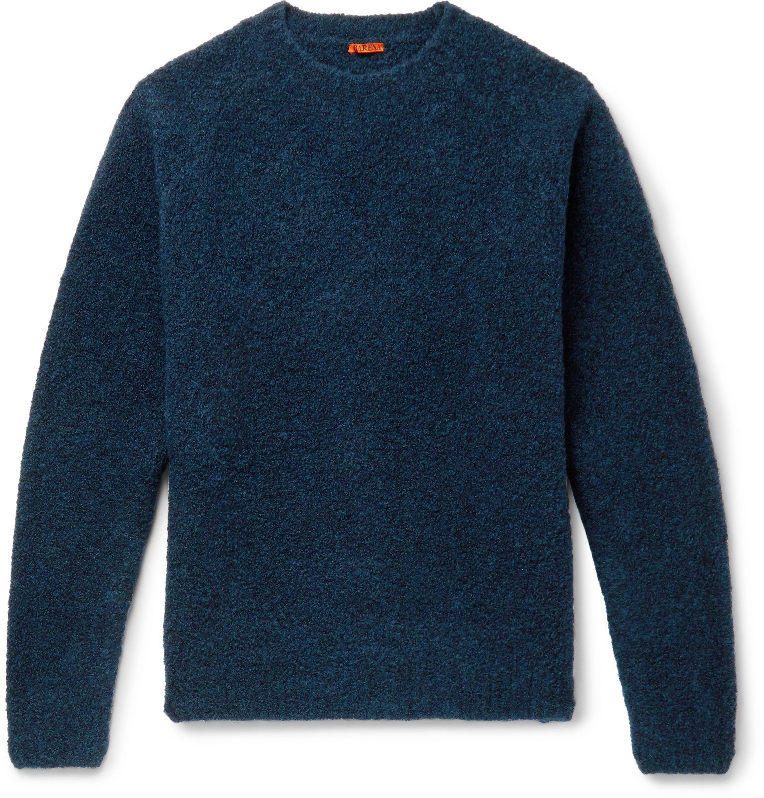 Photo: Barena - Mélange Wool-Blend Sweater - Blue
