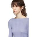 Nina Ricci Grey Solid Line Sweater