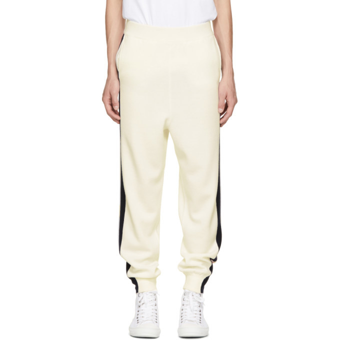 Photo: Stella McCartney Off-White Wool Stripe Sweatpants